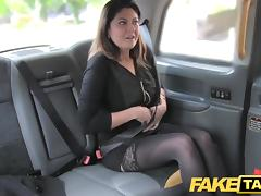Car, Big Cock, Brunette, Car, Cum, Cumshot
