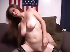 Hottest Amateur clip with Stockings, POV scenes