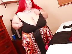 Stupendous SSBBW Saggy Knockers