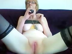 Grandmother, Amateur, Fetish, Granny, Horny, Masturbation