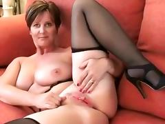 Best Homemade clip with Big Tits, Stockings scenes