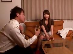 Hottest Japanese girl Kokomi Sakura in Exotic Compilation, Secretary JAV video
