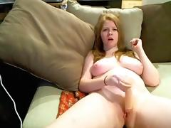 Horny Homemade record with Big Tits, Toys scenes