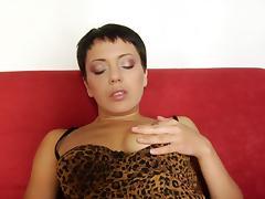 Crazy Homemade clip with Blowjob, Masturbation scenes