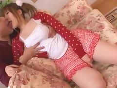 Crazy Japanese chick Momoka Nishina in Horny Big Tits JAV scene