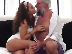 Taboo, Fucking, Old Man, Teen, Old and Young, Dad and Girl
