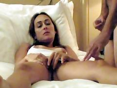 Nympho Arab wife fucked by stranger on webcam