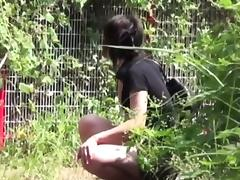 Japanese teen watched pee