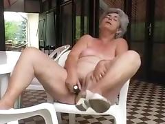 Grandma, Amateur, Granny, Hairy, Masturbation, Mature