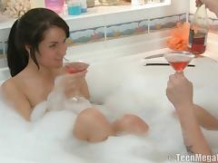 Bathing, Bath, Bathing, Bathroom, Couple, Horny