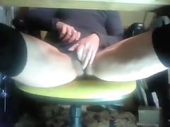 Horny Amateur video with Masturbation, Solo scenes