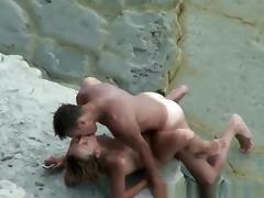 Nudist couple blowjob and fuck