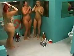 Observation Of Wives And Girlfriends Big Brother Finland Shower