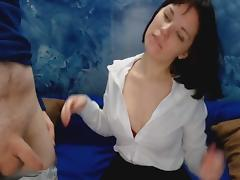Amateur Russian Teen In A Hot Sex Show