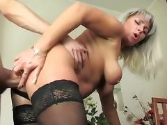 Best Amateur video with MILF, Stockings scenes