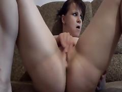 unusual shooting and real orgasm