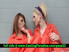 Jayme Valerie stunning lesbians in jail
