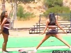 Black Lesbian Threesome lesbian girl on girl lesbians