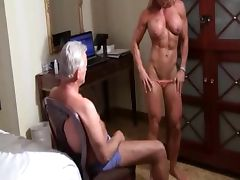 Dad, Amateur, Bound, Dance, Muscle, Old