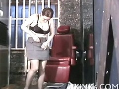 Whore gagged and terrified porn video