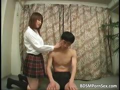 Bound, Asian, BDSM, Bondage, Bound, College