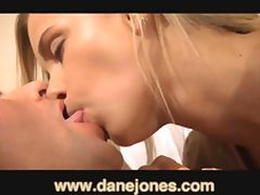 DaneJones Creampie for sexy young blonde girlfriend