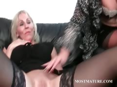 Stepmom, Aged, Cougar, Couple, Cunt, Granny