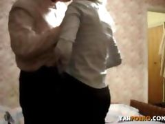 Horny Russian Amateur Couple Homemade Porn Video
