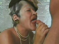 GRANNY AWARD 9 matures with a man porn video