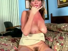 Stepmom, Aged, Cougar, Housewife, Masturbation, MILF