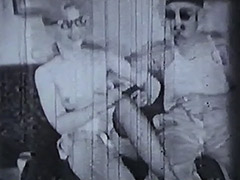 Three Brothers Fucking Hot Blonde 1950 porn video
