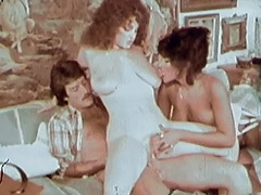 These Lesbians are Really Wild and Crazy 1970 porn video