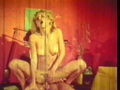 Blonde Woman's Sex Affair with a Boy 1970