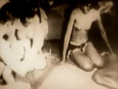 A Hot Sex Game of Strip Dice 1950 porn video