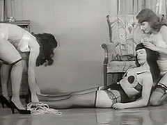 Beautiful Girls Kidnap a Cute Chick 1950