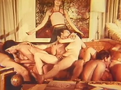 Students in a Secret Group Sex Apartment 1960