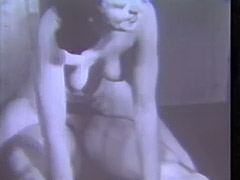 Babe Masturbates in the Toilet 1940