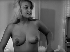 1960, Babe, Blonde, Classic, Masturbation, Teen