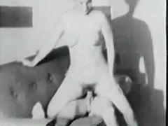 1950, BBW, Blonde, Blowjob, Classic, MILF