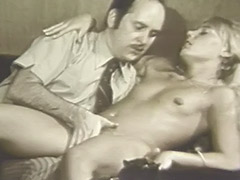 Blonde Girl Hypnotized in to Having Sex 1960 porn video