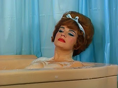 Redheaded Pornstar Takes a Hot Bath 1960 porn video