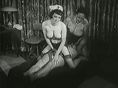 Granny Doctor Healing Old Man's Erection Problems 1950 porn video
