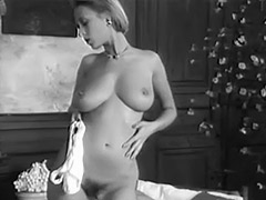 Charming Busty Girl Dance Striptease 1960 porn video
