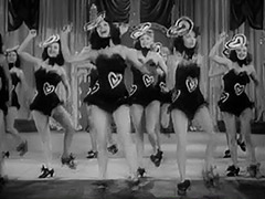 Burlesque Girls Dance on Stage 1940 porn video