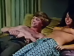 Young Couple Fucks at House Party 1970 porn video