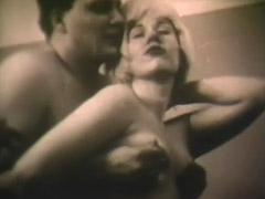 Dick Craving Blonde gets Fucked 1960