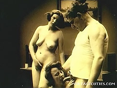 Vintage 1920s Real Group Sex Old and Young 1920 porn video
