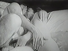 Old and Young Fucking Relations in Bed 1950 porn video