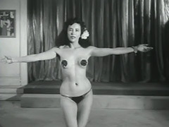 Sensitive Dance of one Cute Minx 1950 porn video