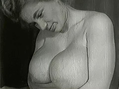 Mature Blonde with Huge Big Boobs 1950